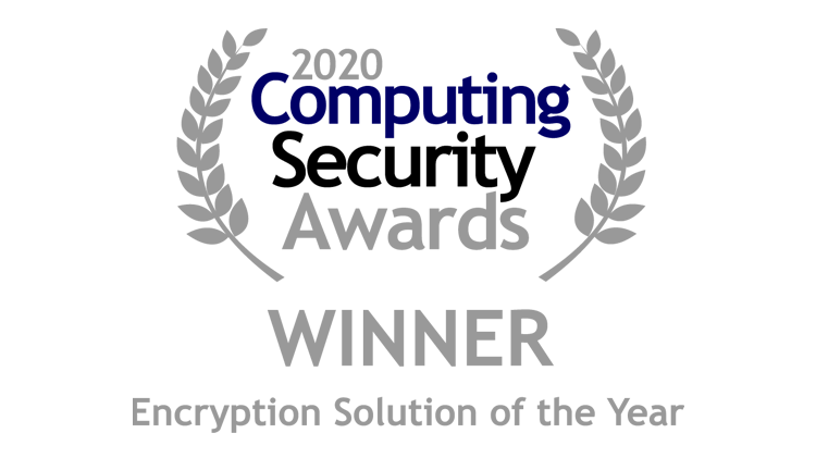 Cryptshare hat den Computing Security Award 2020 in der Kategorie Encryption Solution of the Year gewonnen