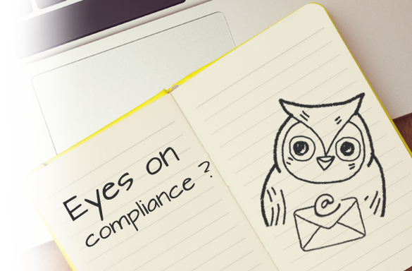 Note pad with owl in it.