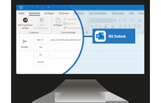 Nahtlos in Outlook integriert