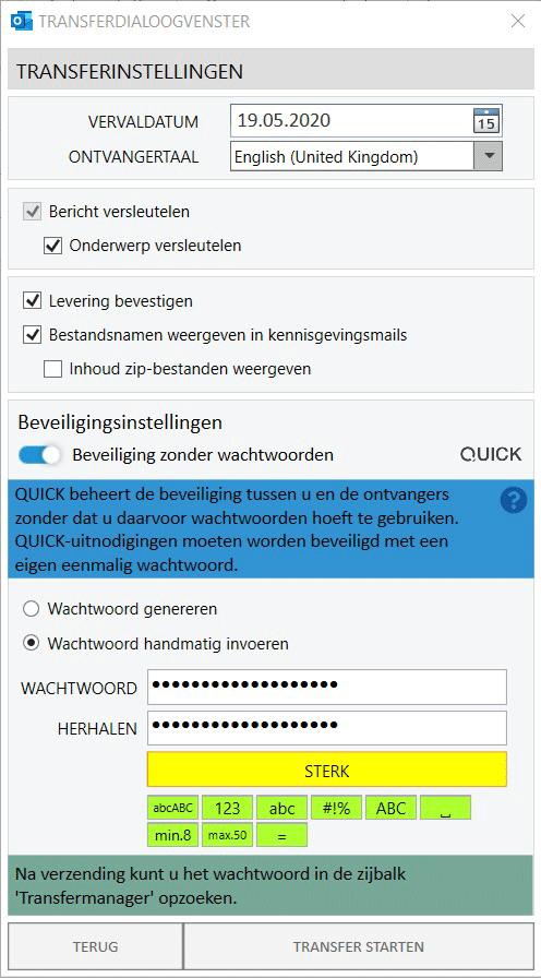 Wachtwoordbeschermde Email - Beveiling zonder wachtwoorden