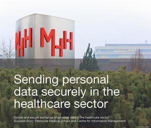 Case study Sending personal data securely in the healthcare sector
