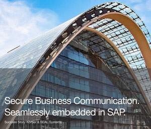 Case study Send orders and additional documents directly and encrypted from SAP