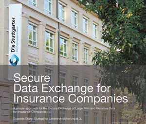 Case study Secure Data Exchange for Insurance Companies