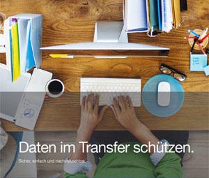 Datenblatt Daten im Transfer schützen.