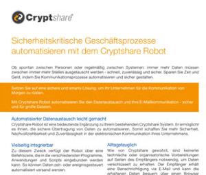 Datenblatt Sicherheitskritische Geschäftsprozesse automatisieren