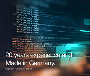 Datasheet 20 years experience and Made in Germany.