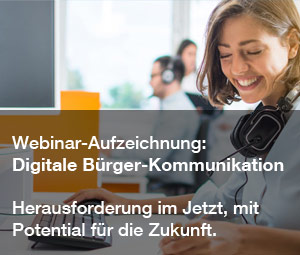 Webinar Digital citizen communication: challenge in the present, with potential for the future