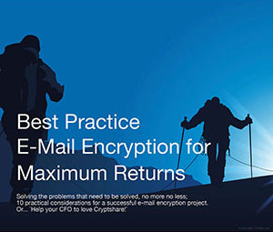 WHITEPAPER Best Practice Email Encryption for Maximum Returns